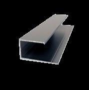 Алюминиевый профиль L для панелей 13мм