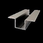 Алюминиевый соединительный профиль Омега 10мм
