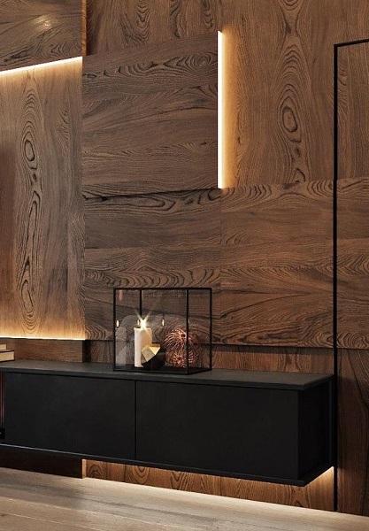 Стеновые панели из дерева купить
