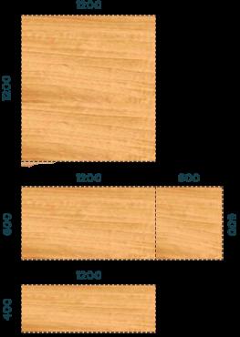 Размеры стеновых панелей
